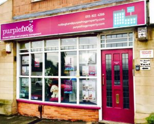 Purple Frog Nottingham Office